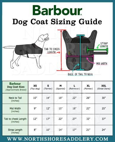 Barbour Wool Touch Fleece Lined Dog Coat | North Shore Saddlery