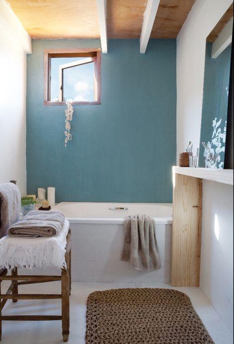 Arredo Bagno Colore Azzurro.Toni Pastello Pareti Azzurro Arredo Bagno Bianco Interni Casa