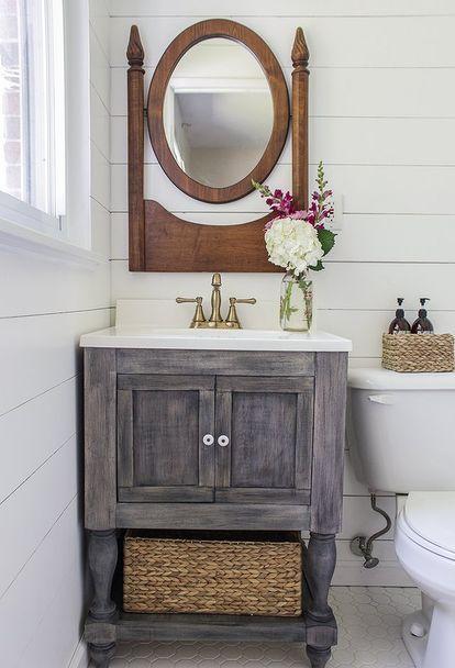 Small Master Bathroom Budget Makeover Bathroom Ideas Diy Home Improvement Bathroomdiysmal Diy Bathroom Vanity Bathroom Vanity Decor Small Bathroom Vanities