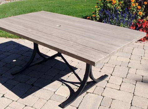 Backyard Creations Boulder Creek Table At Menards
