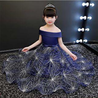 فساتين سواريه اطفال تفصيلات فساتين سواريه بناتي جديدة 2021 Kids Party Dresses Blue Party Dress Dresses