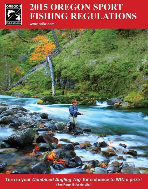 Oregon sport fishing regulations, by the Oregon Department of Fish and Wildlife