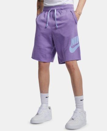 Nike Men's Sportswear Shorts - Purple L | Mens sportswear ...