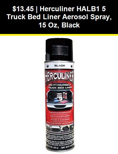 Bed Liner Spray Paint Colors : liner, spray, paint, colors, Spray, Paint, 183104:, Herculiner, Halb1, Truck, Liner, Aerosol, Spray,, Black, ONLY:, .45, #eBay, #spr…, Liner,