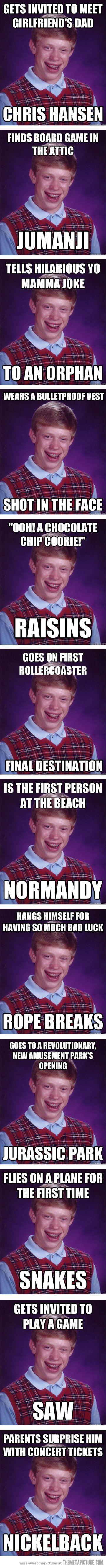 My Bad Luck Meme