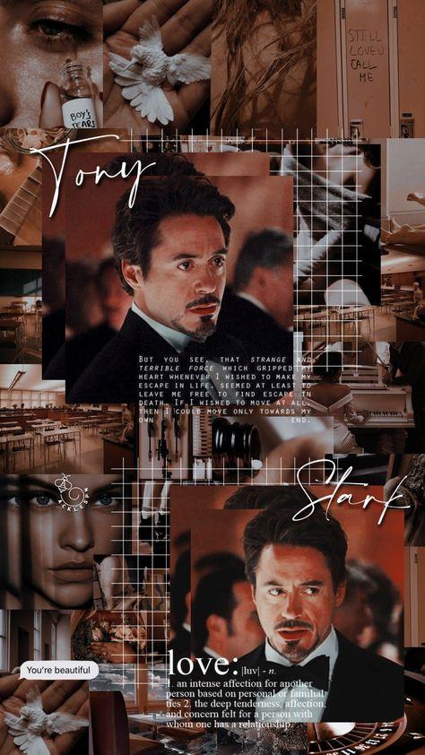🖤ཻུꦿ❁ Lockscreen Tony Stark