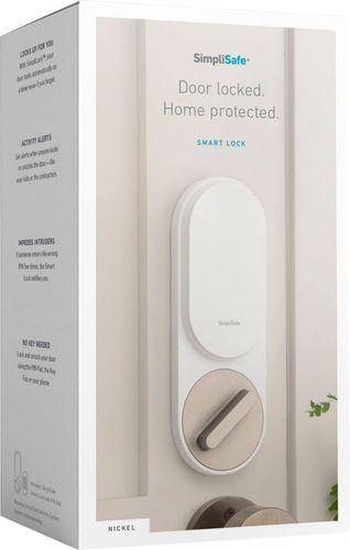 Simplisafe Smart Lock Pin Pad Nickel Ss3 Lk Wn In 2020 Simplisafe Smart Lock Cool Things To Buy