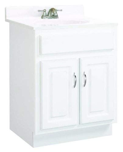 Design House 541029 Concord Ready To Assemble 2 Door Vanity White