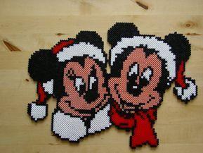 9x Kuhlschrankmagnet Bugelperlen Mickey Maus 13