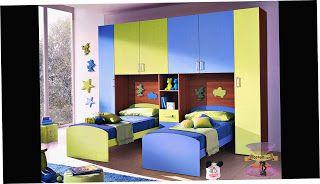احدث الوان دهانات و ديكورات غرف نوم الاطفال 2021