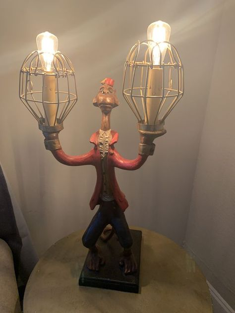 Bill Huebbe Signed Monkey Lamps For Sale In Greenville Sc Offerup Lamps For Sale Lamp Crystal Lamp