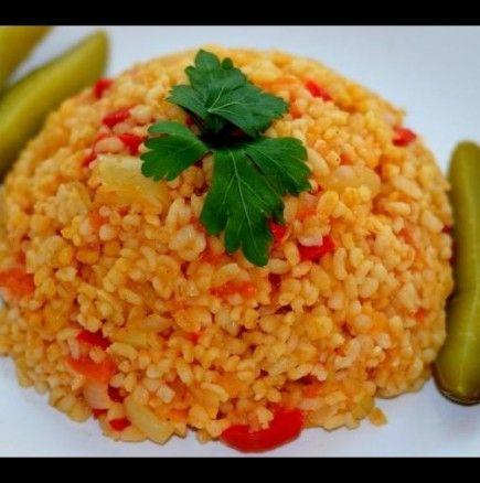 Turski Recepti S Bulgur Za Zhenata Recipes Lebanese Recipes Syrian Food