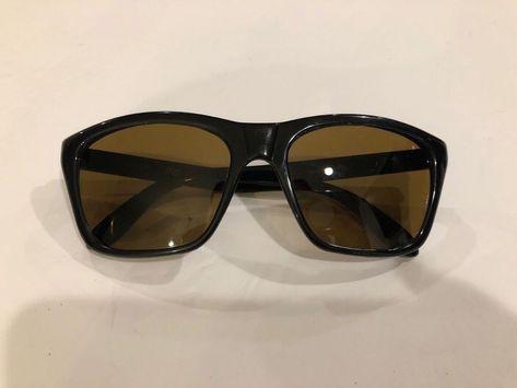 a03b3f3cd111 Vintage VUARNET Sunglasses Px 006 CE Pouilloux Black Frame No Case France   Vuarnet  pouilloux