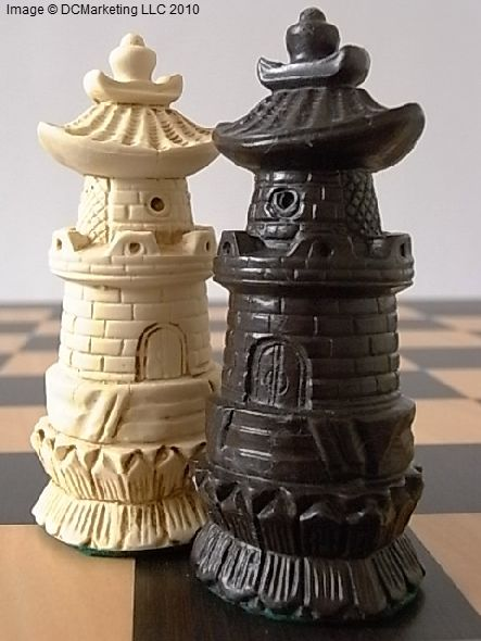 Chinese Plain Theme Chess Set
