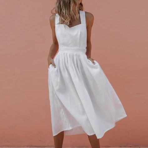 High Waist Summer Dress | e shop in 2019 | Dresses, Summer