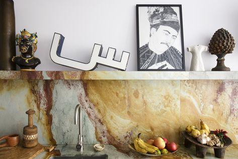 Parete Della Cucina : Per la parete della cucina e pavimento del bagno piastrelle in