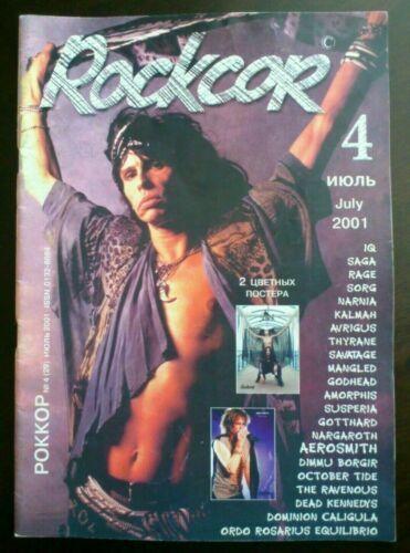 Photo of Russian magazine 2001 Steven Tyler Aerosmith Satarial poster | eBay