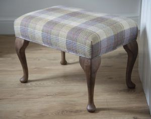 Buy Tweed Tartan Footstools Handmade In Scotland Florence