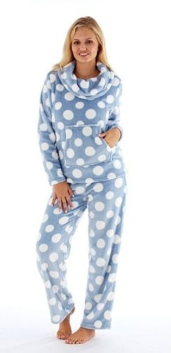 Blue Stars Coral Fleece Pajama Pants for Women Soft Plush Lounge Pants