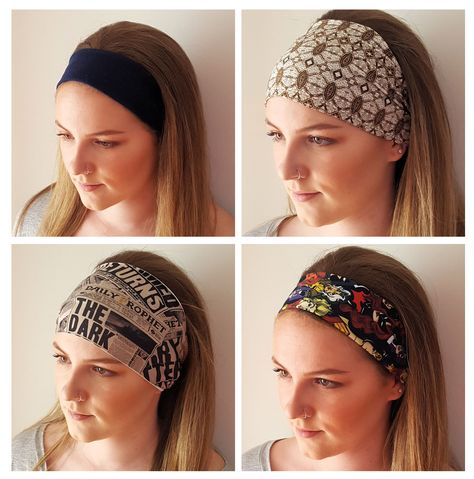 Stitch a quick non-slip headband to match your favorite fashions with this simple tutorial by Stacy Sews for WeAllSew.