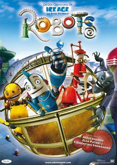 Robots 2005 Tt0358082 Esp Peliculas Completas Peliculas Peliculas De Disney