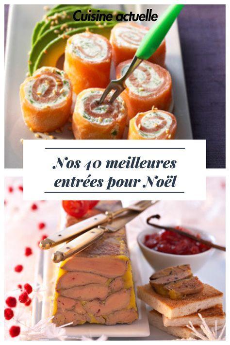 Idées recettes entrée Noël saumon et foie gras, coquilles saint