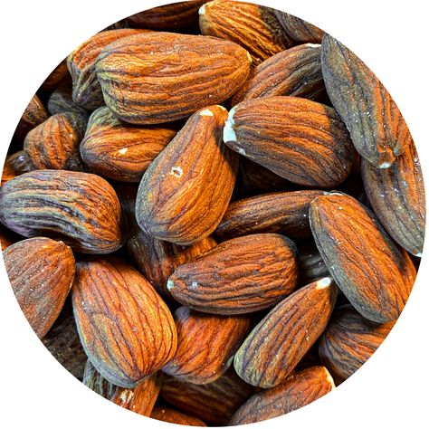 Our Raw Redskin Almonds are perfect for baking, on top of salads, or making Almond Butter!
