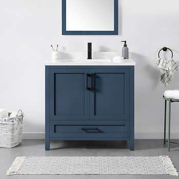 Lourdes 36 Vanity By By Ove Decors Bath Vanities Vanity Solid