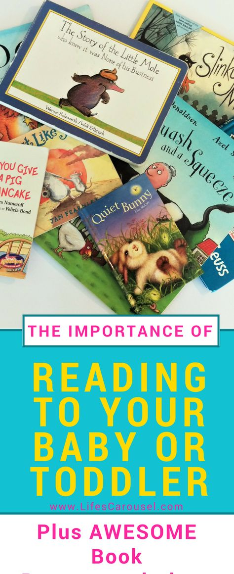 The Importance of Reading to Babies & Toddlers - + BOOK RECOMMENDATIONS