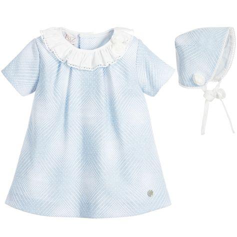 b5ad3a119 Paz Rodriguez Baby Girls Blue 2 Piece Dress Set