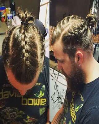 Peinados Con Cabello Largo Para Hombres Braids For Long Hair Mens Braids Hairstyles Long Hair Styles Men