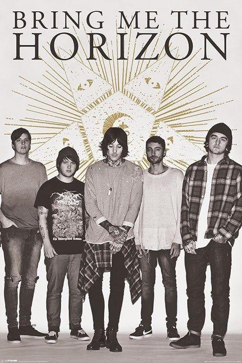 BRING ME THE HORIZON STAR POSTER