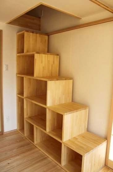 26+ Diy storage stairs for loft trends