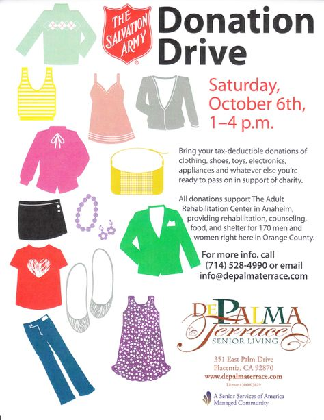 Gallery For Spring Clothing Drive Flyer
