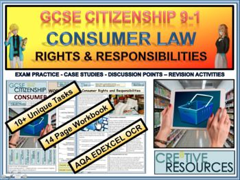 Consumer Law Rights And Responsibilities Work Booklet 14 Page Study Work Booklet Of Classroom Ready Acti Rights And Responsibilities No Response Booklet