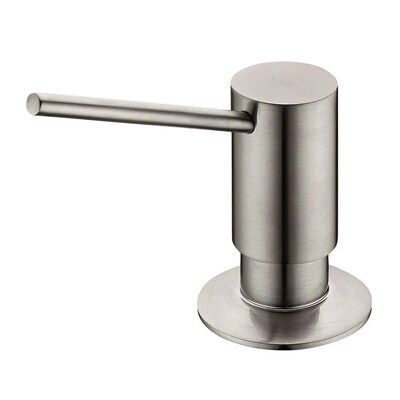 Kraus Stainless Steel Soap And Lotion Dispenser Lowes Com Stainless Steel Dispenser Lotion Dispenser Soap Dispenser