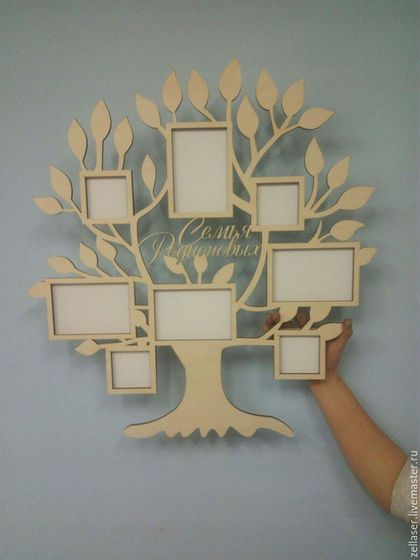 3fc43949ee683 Купить или заказать Фоторамка 'Семейное дерево' в интернет-магазине на  Ярмарке Мастеров. Фоторамка 'Семейное дерево' с фамилией. Станет отличн…