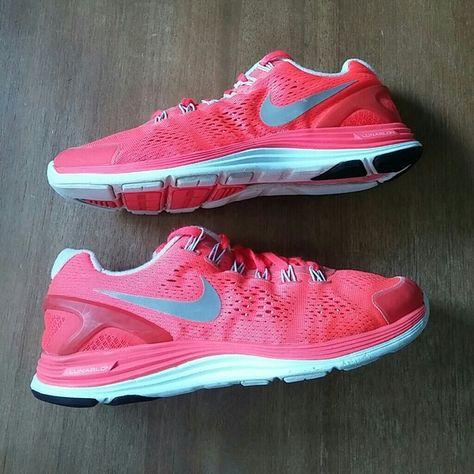 eleganta skor amazon rabattkod Womens Nike lunarglide 4 The color is neo coral orange kinda in ...