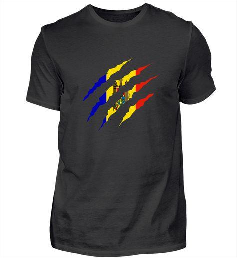 Claw Klaue Länder Moldawien T-Shirt