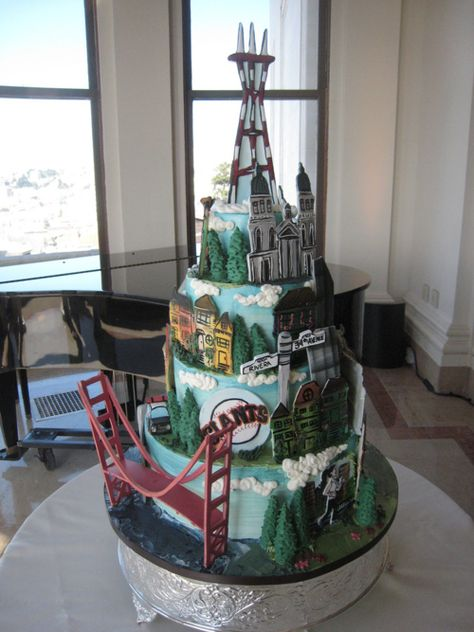 San Francisco by cakecoquette,