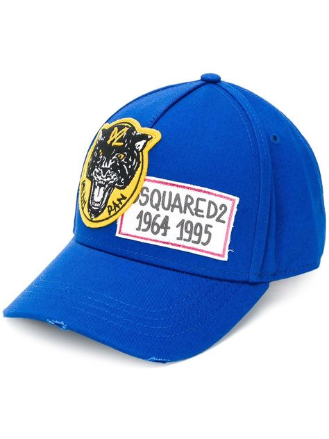 0aa010ccb DSQUARED2 DSQUARED2 1964 1995 BASEBALL CAP - BLUE. #dsquared2 ...