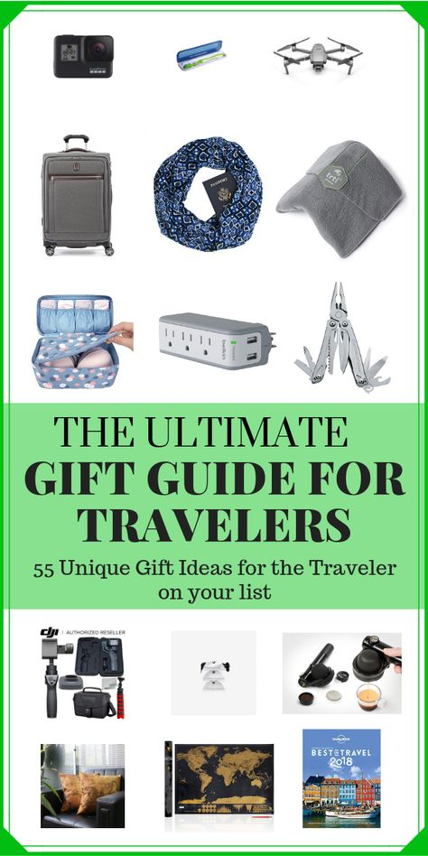 After trying countless products over more than a decade of travel, we've narrowed downt eh best gifts for travelers that have been tested by yours truly.