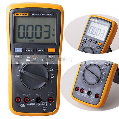 Fluke 17B + Auto Range Digitale Probe Multimeter Meter