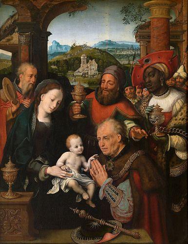 Cornelis Van Cleve Anbetung Der Konige Adoration Of The Magi Adoration Magi Painting