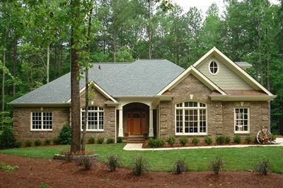 Plan 2067ga Classic Brick Ranch Home Plan Southern House Plans Ranch House Plans Ranch Style Homes