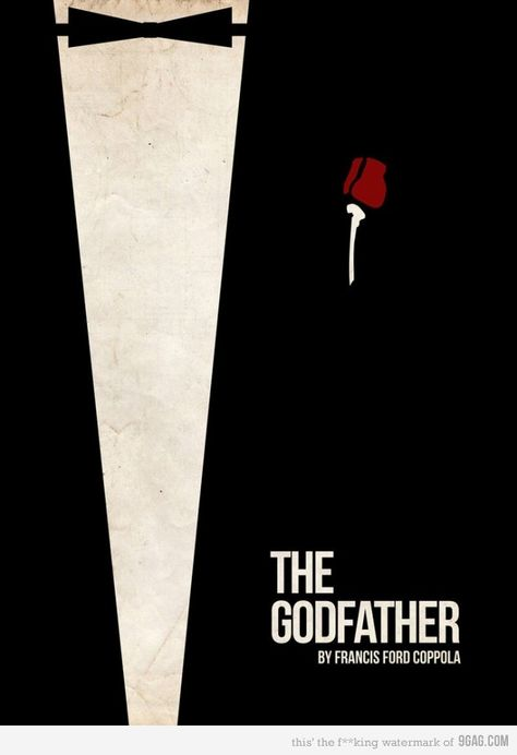 The Godfather poster. Wonder what part 2 and 3 should look like in this series.