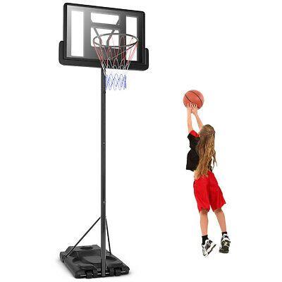 Advertisement Ebay Height Adjustable Portable Basketball Hoop System Shatterproof Backboar In 2020 Portable Basketball Hoop Basketball Hoop Adjustable Basketball Hoop