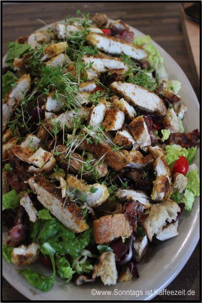 Caesar Salad A La Jamie Oliver Rezept Rezepte Cesar Salat Und Leckere Salate