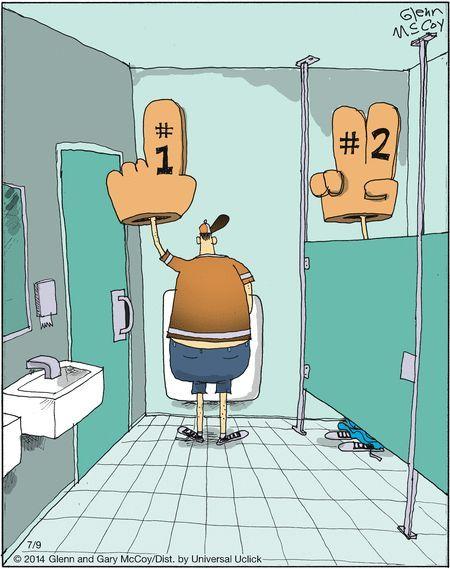 funny bathroom cartoon Silly jokes Bathroom humor Funny cartoons