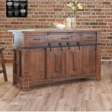 Gracie Oaks Coralie Kitchen Island Wayfair Rustic Kitchen Antique Kitchen Rustic Furniture